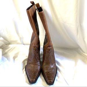 Antonio Melani Cassidy western cowboy boots Size 8
